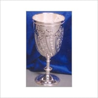 Silver Plated Brass Goblets