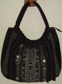 Hand Embroidery Woolen Bag