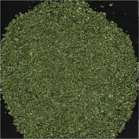 Impurities Free Crushed Parsley Leaves