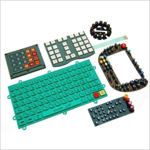 Light Weight Silicone Rubber Keypad