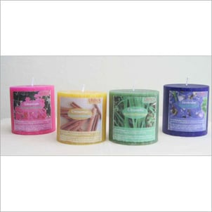 Attractive Color Aromatherapy Candles