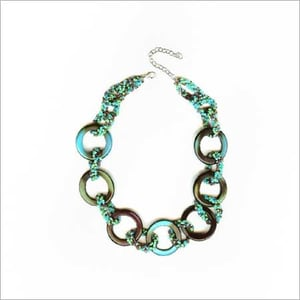 Round Resin Beads Necklace