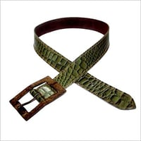 Suede Leather Fancy Belt