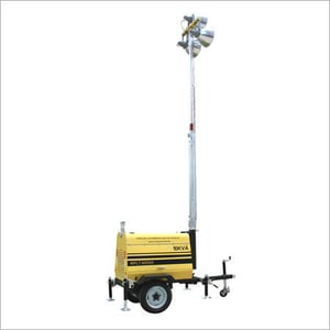 Electric Lift Light Tower