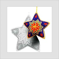 Christmas Decorative Colorful Stars