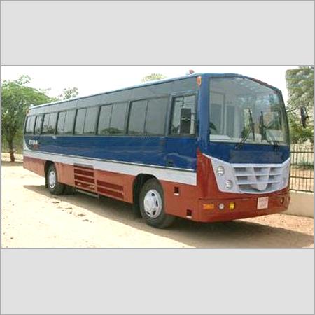 Steel Body Luxury Bus
