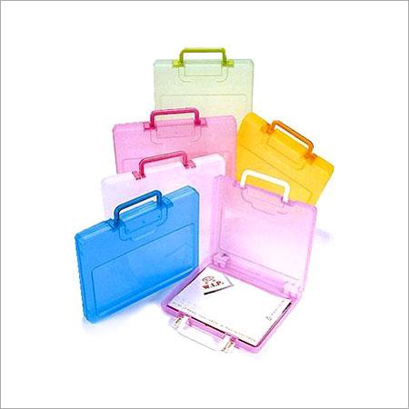 Plain Portable File Case