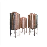 Stainless Steel Jaketted Tanks