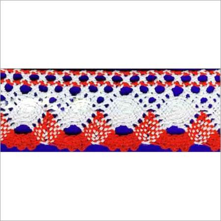 Designer White Colored Lace