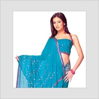 Sequins Beaded Sarees