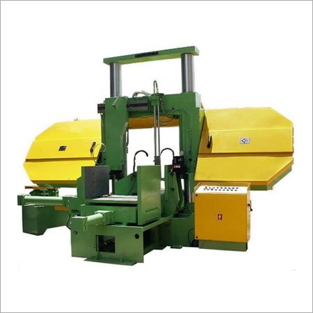 Fully Automatic Heavy Duty Double Column Band Saw Machine