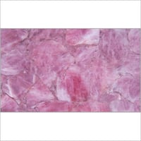 Rose Quartz Gemstone Slabs