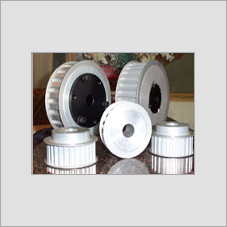 Various Colors Are Available Round Shape Timing Pulley