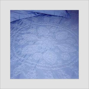 Designers Chikan Bed Sheets