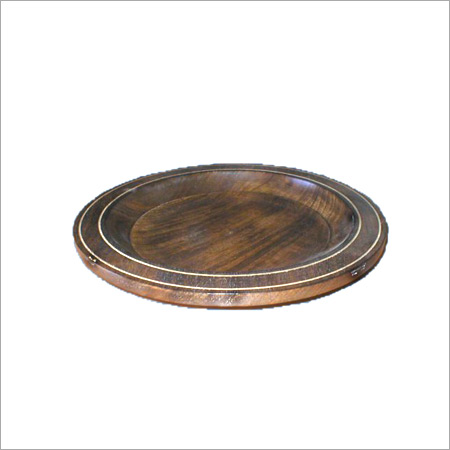 Pure Wooden Fruit Plate Size: Customized