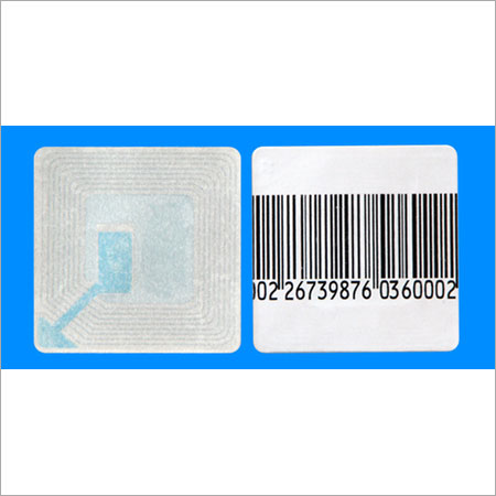 Printed EAS Adhesive Label