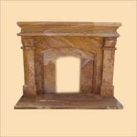 Sand Stone Fire Place