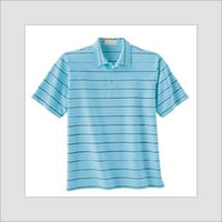 MEN'S YARN DYED POLO T SHIRTS