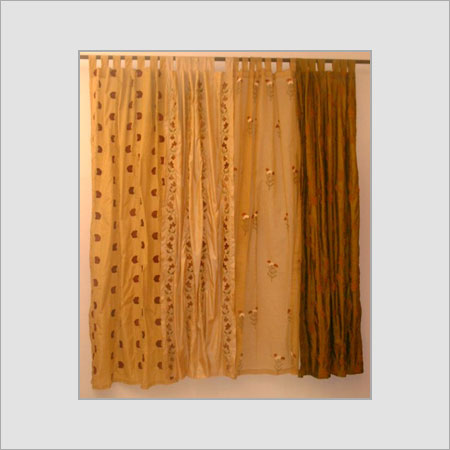 Printed Colored Velvet Curtains