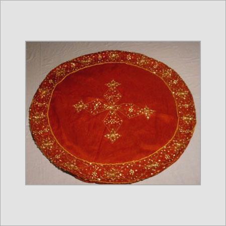 Silk Table Oval Shape Covers