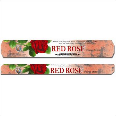 Red Rose Flower Incense Sticks