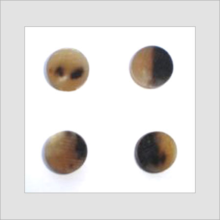 Buffalo Horn Button Blanks