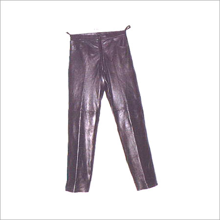 Leather Skinny Fit Jeans