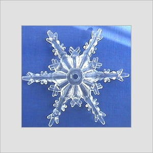 Snowflake Beads For Garments