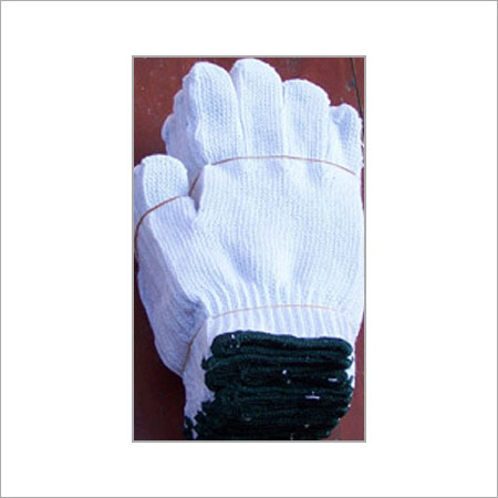 String Bleach Work Gloves