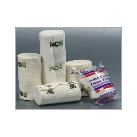 Cotton & Rubber Elastic Bandage