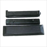 Rectangular Black Rubberized Track