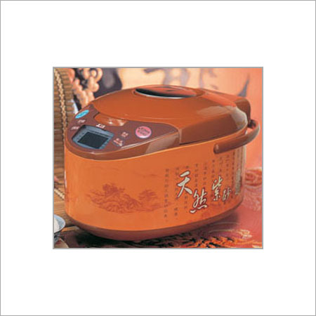Electric Purple Clay Rice Cooker