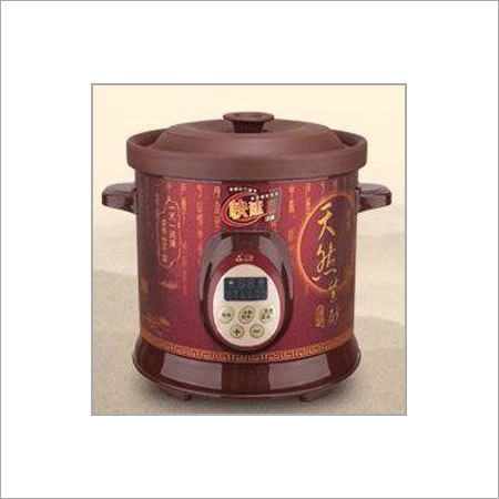 Purple Clay Slow Cooker Size: Customized