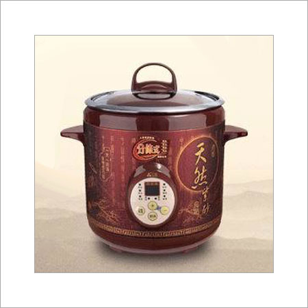 Purple Clay Stew Cooker Size: Customized