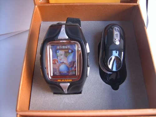 Touch Screen Tri-Band Watch Phone