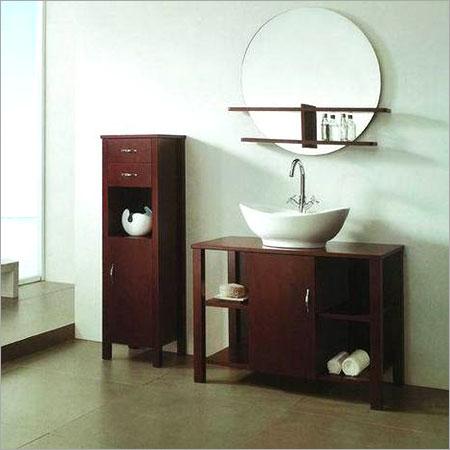 Designer Wooden Bathroom Cabinet
