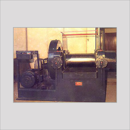 Two Roll Rubber Mixing Mill Duly Fabricated Body