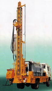 Beaver 1000 Standard Drilling Rig Mounted On Truck