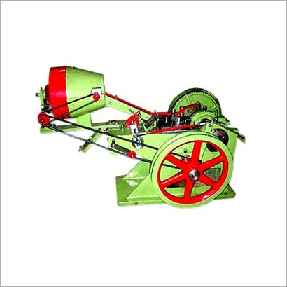 Green Automatic Bolt Head Trimming And Shank Reducing Machine