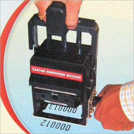 Carton Numbering Machine