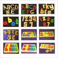 Wooden Alphabets For Education