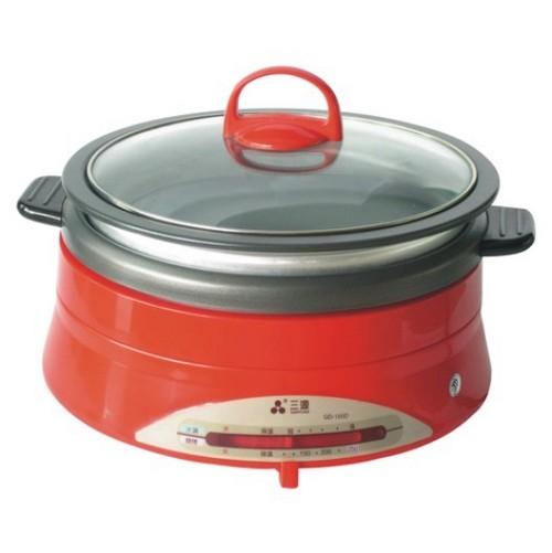 Round Multi Functional Cooker Size: Various Sizes Are Available