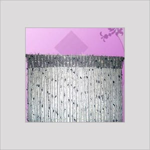 Feather Rayon Designer Curtain