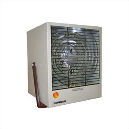 White Heavy Duty Air Heaters