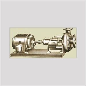 END SUCTION CENTRIFUGAL (VOLUTE CASING) PUMP