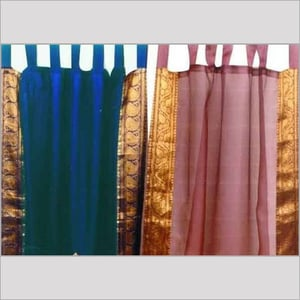 Organza Curtains With Gorgeous Borders