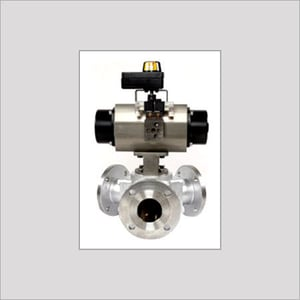 Cavity Filled Ball Valve With Automation