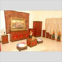 Rajasthan Hand Painted Wooden Furniture