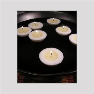 Smokeless and Aromatic Floating Candles