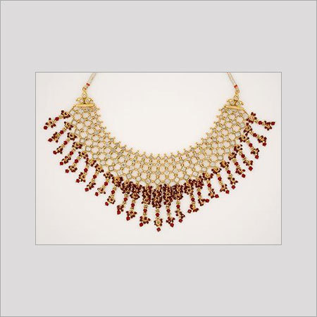 Varios Colors Are Available Womens Designer Gold Necklace